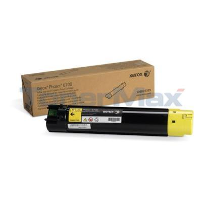 XEROX PHASER 6700 TONER CART YELLOW 5K